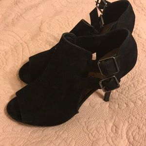 Chinese Laundry Black Suede Bootie